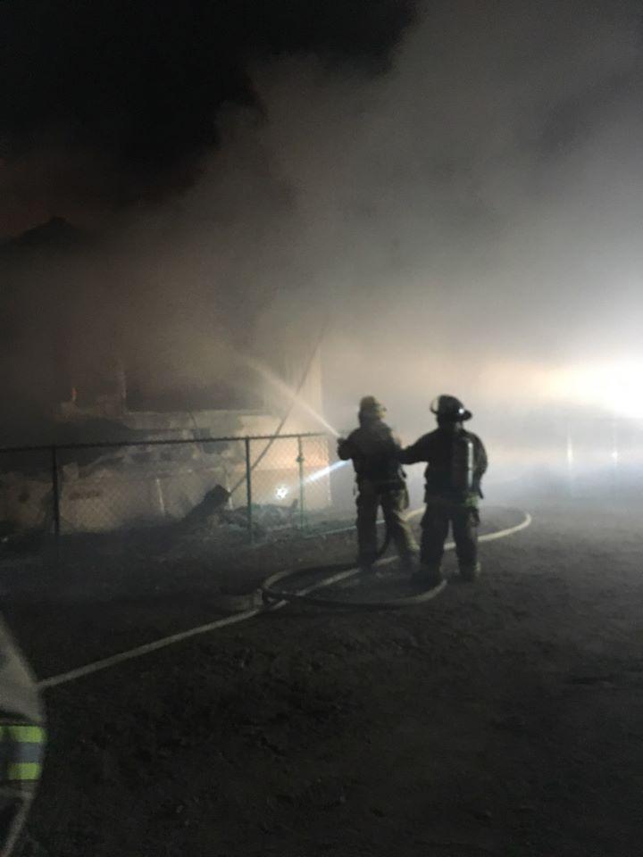 Niland Fire 1
