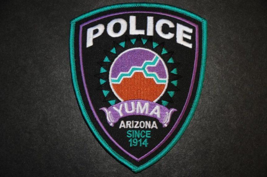 Yuma police patch